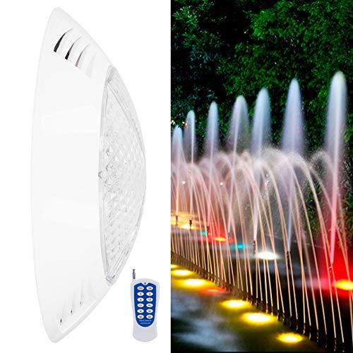 SUCIE Luces LED sumergibles, Luces LED, Luces de Piscina Iluminación de Piscina Luz de Piscina LED Luz de Piscina subacuática para Fiesta en la Piscina