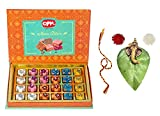 Feastive Celebrations Om Sweets Assorted MEWA Bites (500 Grams) with Mauli, Kesar(Branded) and chawal