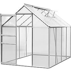 alu gew chshaus stabil und praktisch gew chshaus test. Black Bedroom Furniture Sets. Home Design Ideas