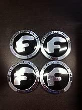 Forgiato New Set of 4 Chrome Wheel Caps