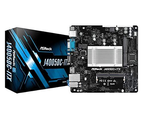 Placa Mãe J4005DC-ITX Processador Intel J4005 Mini-ITX DDR4 HDMI VGA ASRock, 4717677339994