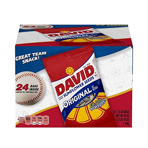David Sunflower Seeds (1.75 oz., 24 ct.) - (Original from manufacturer - Bulk Discount available)