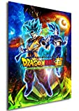 Instabuy Poster Cartel de pelicula - Dragon Ball Super: Broly (Cartel 70x50)
