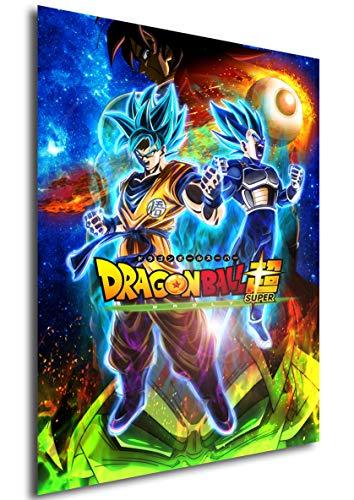 Instabuy Poster Cartel de pelicula - Dragon Ball Super: Broly (Cartel 70x50)