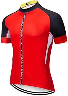 Pro Team Jerseys Bike Shirt Men S Cycling Jersey Ciclismo Bicicleta Sportswear Maillot Ciclismo Breathable LBYGDQ (Color : 13, Size : XXXL)