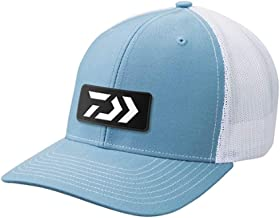 Daiwa DVEC-E-LTBLUWH D-Vec Trucker with Embroidered Lt.Blue and White Logo