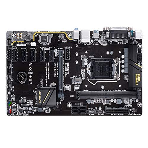 TOPOU Plato Principal Placa Base Fit For gigabyte GA-H110-D3A H110 LGA 1151 Soporte 2 * DDR4 32G 4 * ATX SATA3 1 * M.2