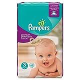 Pampers Premium Protection Active Fit Pannolini grandi confezione – 3 taglie, 62 pannolini