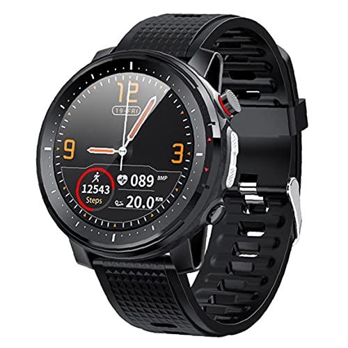 FeelMeet Inteligente Reloj Bluetooth Pulsera de los Deportes IP68 a Prueba de Agua Pantalla táctil Hombres Mujeres Aptitud del Reloj rastreadores Negro