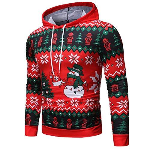 U/A suéter de Navidad suéter sudadera con capucha sudadera hombres mujeres fiesta otoño hombres suéter