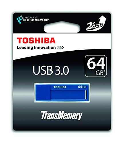 Toshiba TransMemory 64GB USB stick USB 3.0 blau