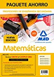 Paquete Ahorro Matemáticas Cuerpo de Profesores de Enseñanza Secundaria