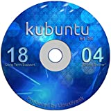 Kubuntu Linux 18.04 DVD - Gorgeous Desktop Live DVD - Official 64-bit Release