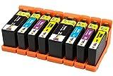 TONER EXPERTE® 8 XL Cartuchos de Tinta compatibles con Lexmark 100 100XL S305 S308 S402 S405 S505 S602 S605 S815 Pro202 Pro205 Pro208 Pro209 Pro705 Pro805 Pro901 Pro905 | Alta Capacidad