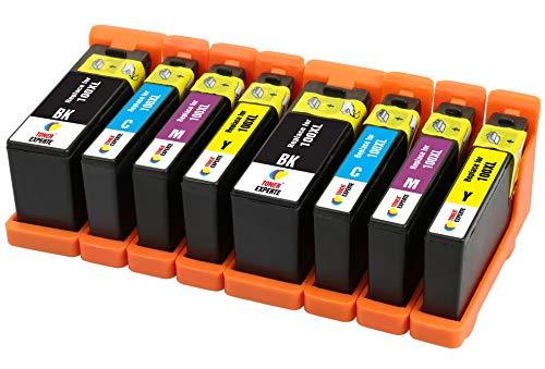 TONER EXPERTE® 8 XL Druckerpatronen kompatibel für Lexmark 100 100XL S305 S308 S402 S405 S505 S602 S605 S815 Pro202 Pro205 Pro208 Pro209 Pro705 Pro805 Pro901 Pro905 | hohe Kapazität