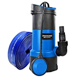 Submersible Water Pump 750w + 10m Hose Powerful Fast 13000 ltr/hr Silverline Hot Tub Spa