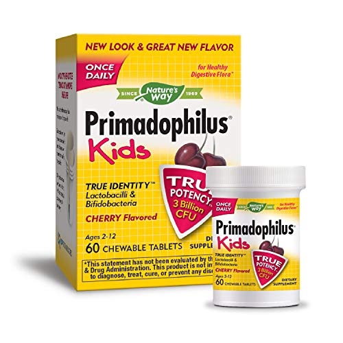 Nature's Way, Primadophilus Kids Cherry, 60 Count
