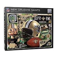 YouTheFan NFL New Orleans Saints Retro Series Puzzle - 500 Pieces
