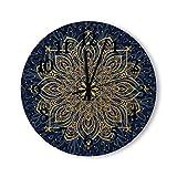 Reloj de madera de 12 pulgadas decorativo redondo grandes n�