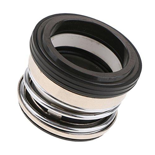 Almencla Universelle Gleitringdichtung Für Pumpen Mit Stabiler Leistung Wahl des Innendurchmessers - Silber schwarz 40mm