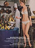 Maidenform Chantilly A Touch of Brilliance in Lace bra panty ad 1983 fondue