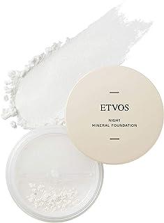 ETVOS ナイトミネラルファンデーション 5g [ 化粧下地 フェイスパウダー 兼用] ツヤ肌 皮脂吸収 崩れ防止 つけたまま眠れる [ブラシ/パフ別売]