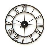 Lightinthebox Retro 20'Reloj de Pared de Metal de Estilo rústico