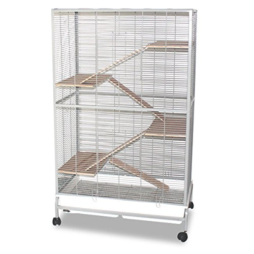 Montana Cages ® | Nagervoliere Malaga III - Platinum Käfig Voliere für Nager & Hamster, etc.