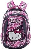 Hello Kitty Kinder-Rucksack 16310, Pink/Dunkel Blau