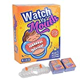 Speak Out Card Game, mouthguard Game, Watch Your Mouth, with Plastic Toy Braces (Ultimate Edition)