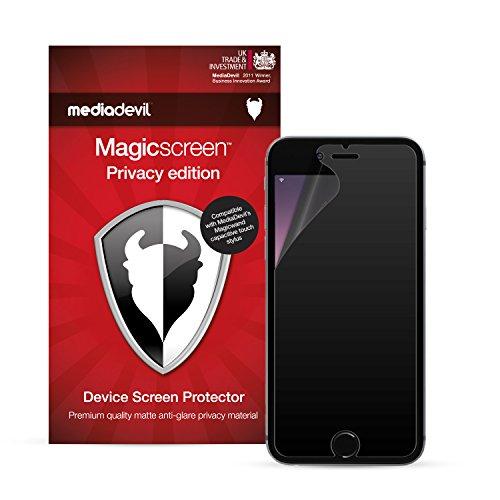 MediaDevil Pellicola Protettiva per iPhone 6 e iPhone 6S - Filtro Privacy - (1-Pezzo)