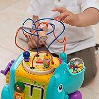 TOP BRIGHT Cubo Multiattività Bambini - Giochi in Legno per Bambini 1 Anno – Cubo Interattivo per Bimbi e Bimbe – Gioco Educativo – Ottima Idea Regalo Bambini #5