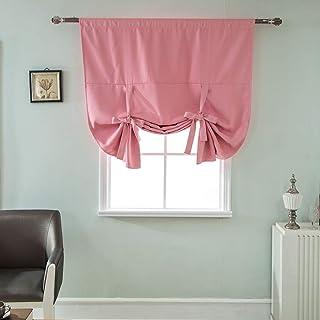 Amazonfr Rideaux Pour Petites Fenêtres Rose
