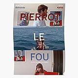 New Pierrot Paul Anna Fou Godard Jean French Belmondo Luc