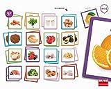 Akros akros20402Maxi-Memory Saludable Alimentos Marco Juego