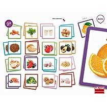 Akros-akros20402-Maxi-Memory-Saludable-Alimentos-Marco-Juego