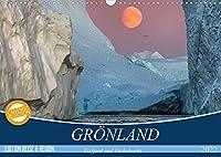 GROeNLAND Eisfjord und Diskobucht (Wandkalender 2022 DIN A3 quer): Abenteuerliche Expedition durch die arktischen Eiswelten (Monatskalender, 14 Seiten )