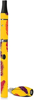 MightySkins Skin Compatible with G Slim Vape Pen - Feathers | Protective, Durable, and Unique Vinyl Decal wrap Cover | Easy to Apply, Remove, and Change Styles | Made in The USA