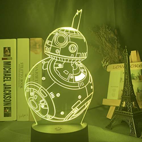 Fantasy máquina 3D luz de noche cargador USB decoración del hogar café fiesta juguete cumpleaños Navidad niños regalo
