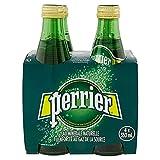Perrier, Agua de manantial gasificada. Paquete de 4 piezas con 330 ml c/u, 1.32 litros
