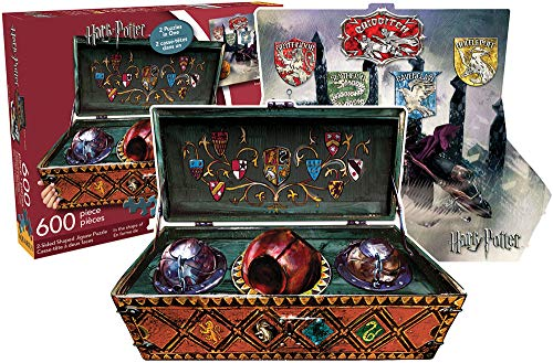 Aquarius Harry Potter Quidditch-Set (2-seitig, geformtes Puzzle)