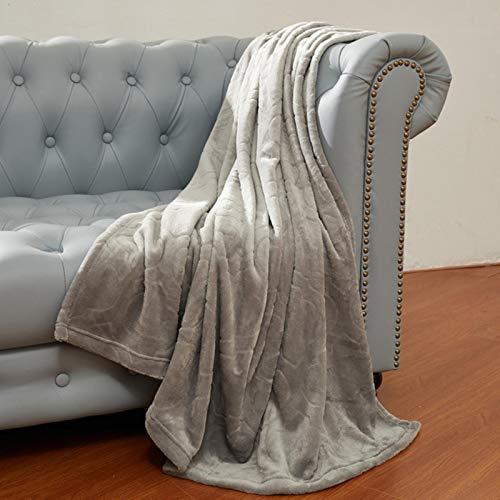 LCZMQRCLMZRQ Suave y cálidaManta deCoralSábana de Invierno Mantas de Franela cálidas para sofá