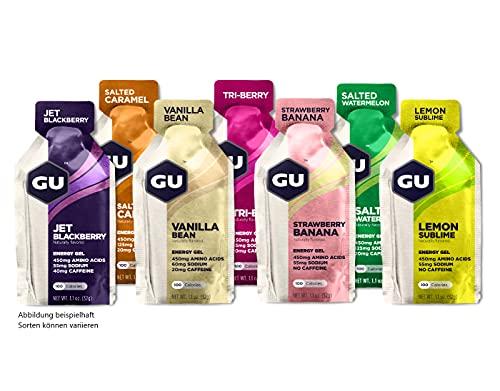Paquete de prueba GU Energy Gel 7 x 32 g (diferentes variedades)