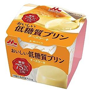 森永乳業 おいしい低糖質プリン チーズケーキ 75g×10個