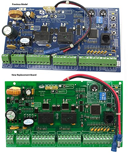Red Replacement Control Board Gate Openers R5211/R4211 PCB3040 GTO & Mighty Mule Replacement Control Board for The FM500, W2500, SW3000 and SW4000 and All XL Series Swing gate openers