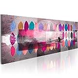 murando Cuadro en Lienzo Colorido 120x40 1 Parte Impresión en Material Tejido no...