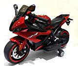 TAMCO 12V Ride on motorcyclewith Hand Racing /Foot Brake/Light Wheel/PU seat Kids Ride on Toys