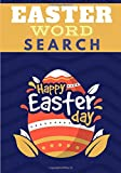 Easter word search: Happy Easter Day | Challenging Puzzle book  | 60 puzzles with word searches and scrambles | Find more than 600 words`| Large Print, Big Character | Funny Gift for Friends, Family.