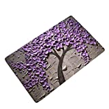 LamourBear Oil Painting Anti-Slip Mat Indoor/Outdoor Decor Rug Doormat 24x16 Inch Home D¨¦cor Entrance Door Mat