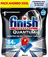 Finish Powerball Quantum Ultimate, pastillas para el lavavajillas - 84 unidades